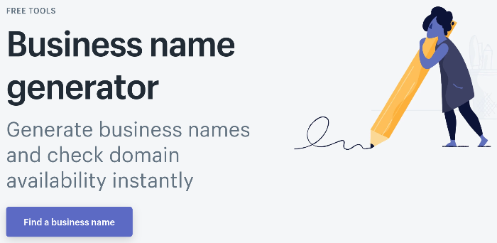 blog name generator shopify business name generator