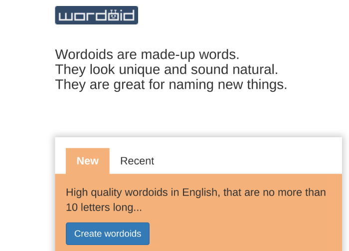 blog name generator wordoid