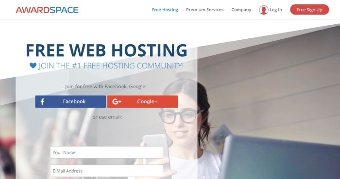 Free WordPress Hosting - AwardSpace