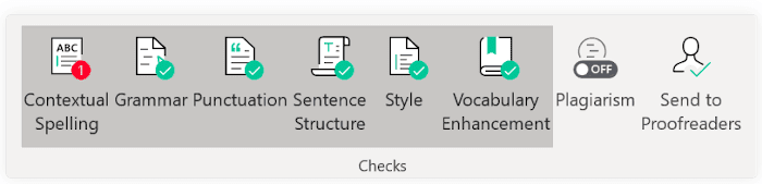Grammarly in Microsoft Word