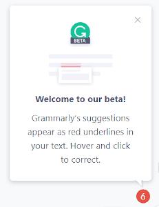 Gramarly Review: using Google Docs