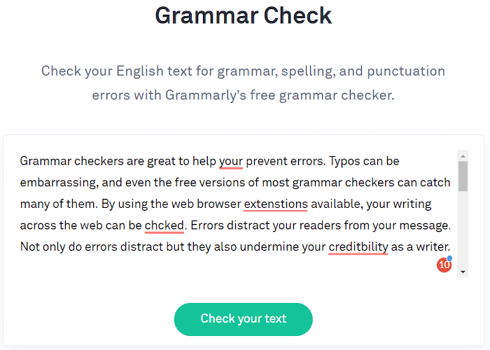 Google grammar check vs grammarly