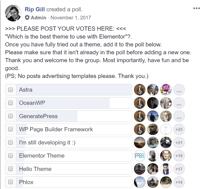 facebook poll results 1