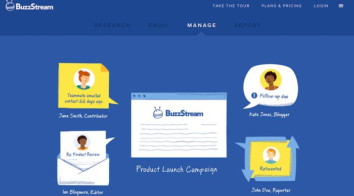content marketing tools buzzstream