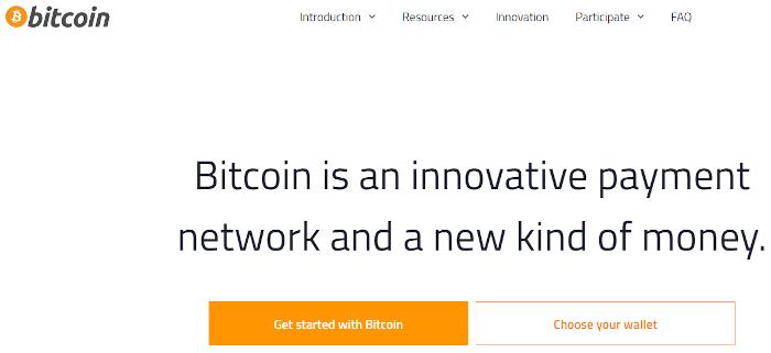 Bitcoin screenshot