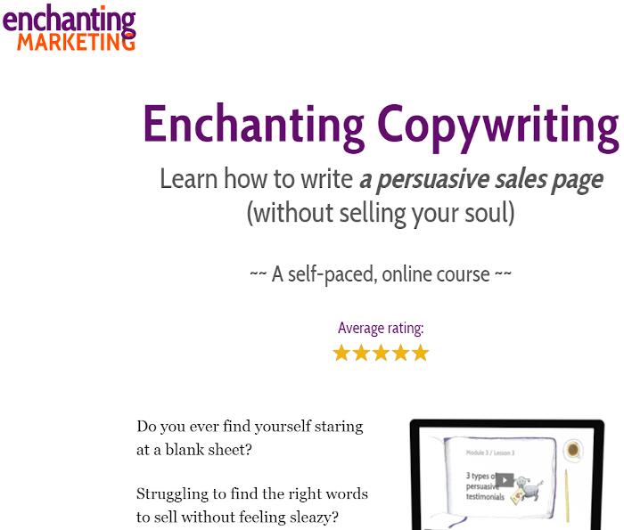 Enchanting Marketing landing page