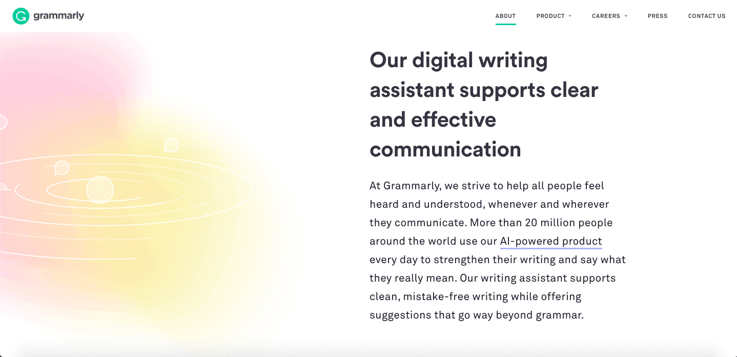 about us grammarly