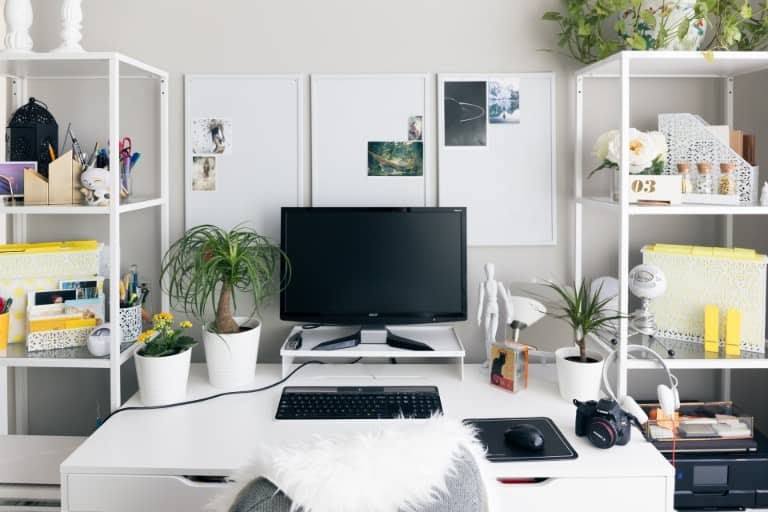home office essentials - declutter