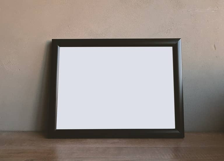 Journaling Idea - One-inch picture frame