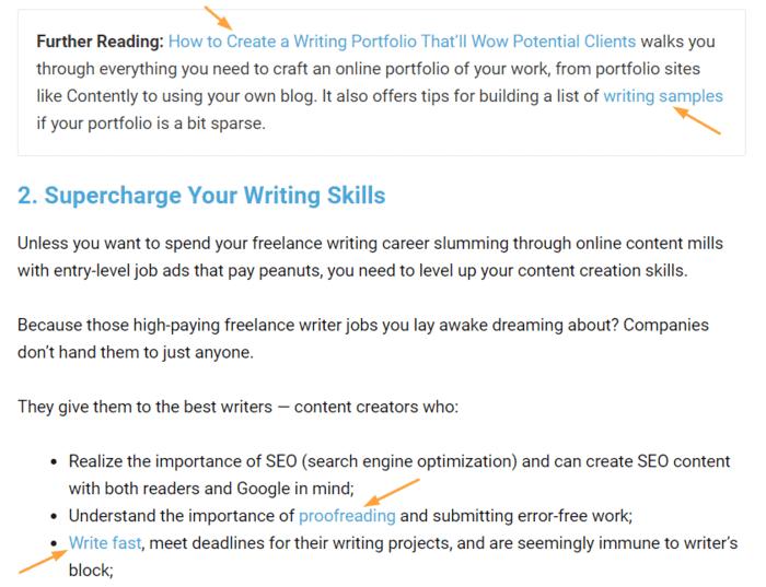 how to make a hyperlink smart blogger hyperlinked post example