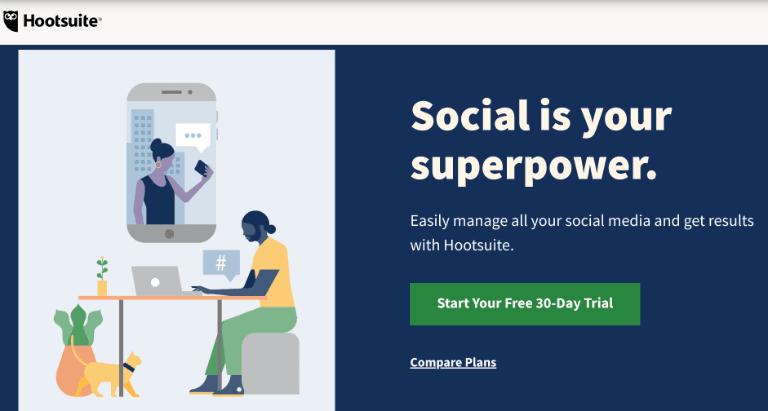 Hootsuite screenshot