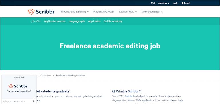editing jobs scribbr