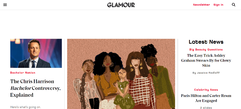 magazine writing jobs glamour