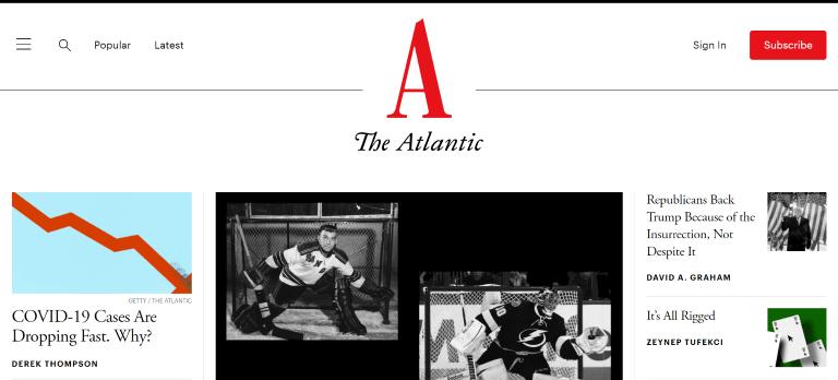 magazine writing jobs the atlantic