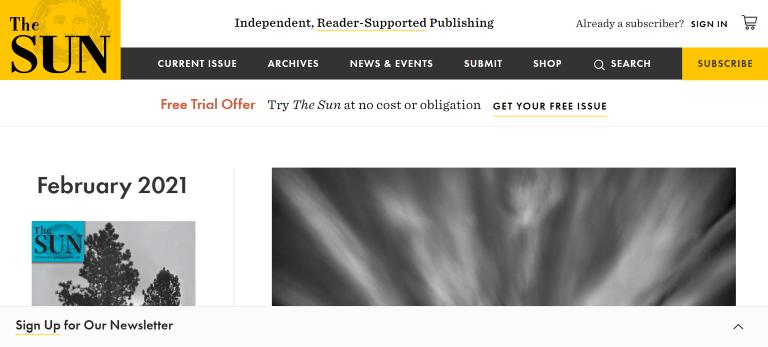 magazine writing jobs the sun