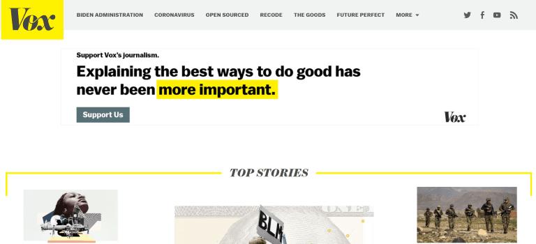 magazine writing jobs vox