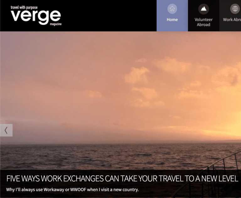 travel writing jobs verge