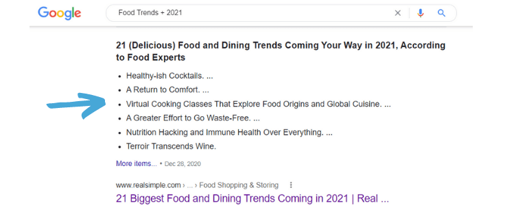 food writing jobs food trends google search