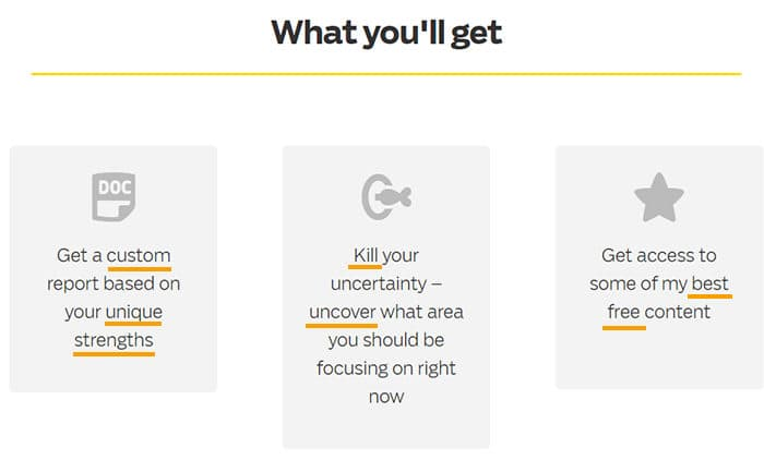 Use Power Words on Your Homepage - Ramit Sethi