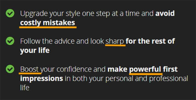 Use Power Words in Bullet Lists - Restart Your Style