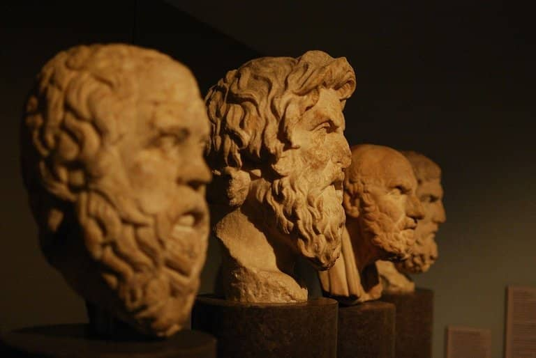 rule of three greek philosophers