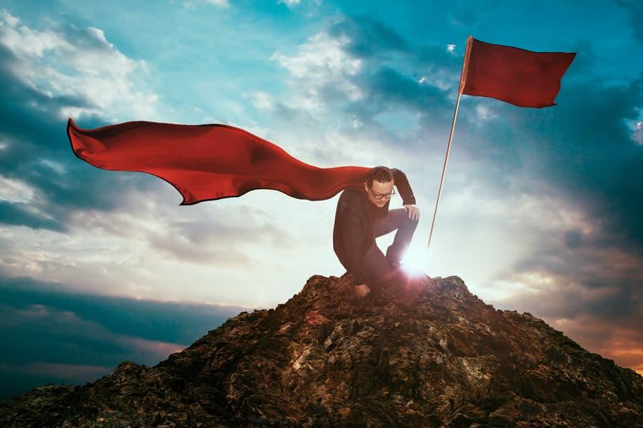 rule of three superman on hill