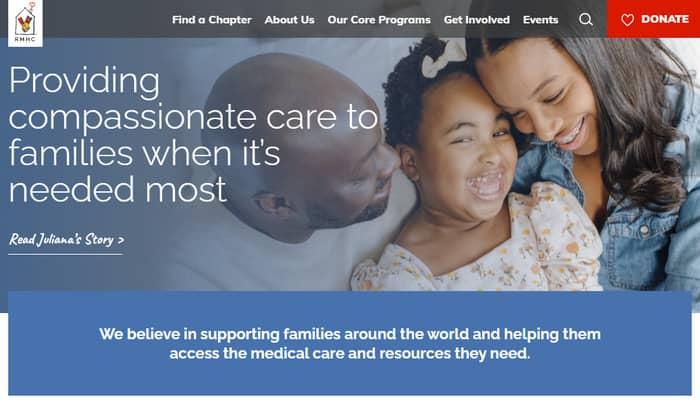 copywriting jobs ronald mcdonald charities website copy