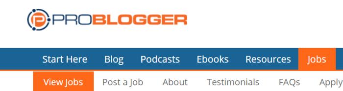 freelance writing job boards problogger