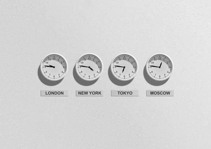 twitter advertising world clocks