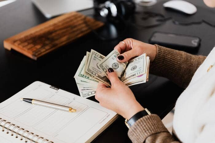 what is a freelancer counting money
