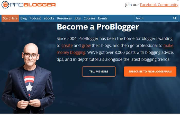 what is a freelancer problogger homepage