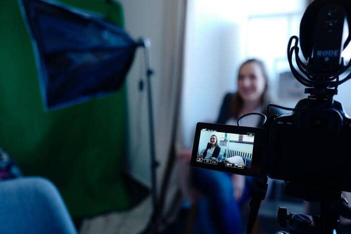 content marketing filming