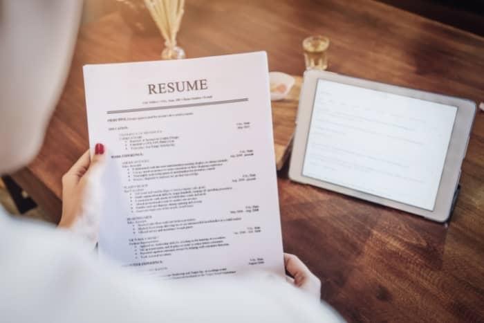 freelance writing services resume