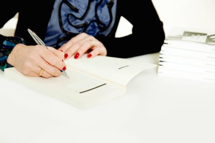 professional writer book signing
