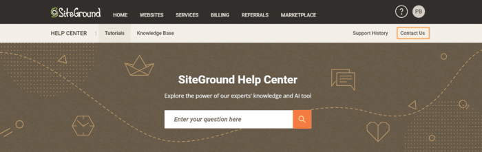 siteground review siteground site client dashboard
