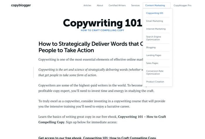 freelance writing sites copyblogger