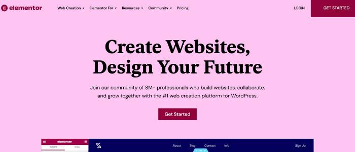 WordPress Page Builders Elementor Theme