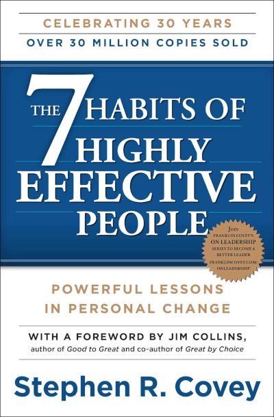 Power Words Book Title - Stephen Covey