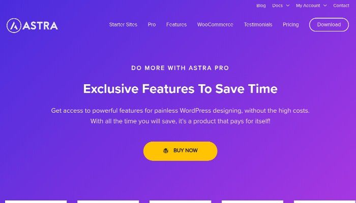 Astra Pro WordPress Theme