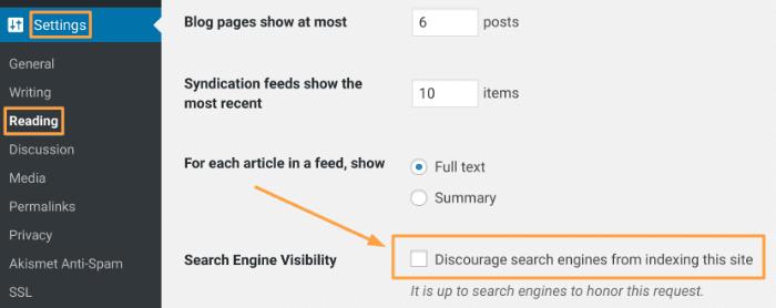 Make Website Public in WordPress