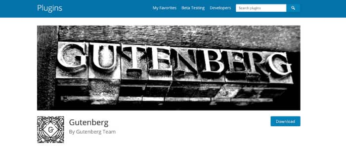 WordPress Page Builders Gutenberg Theme