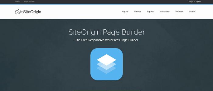 WordPress Page Builders SiteOrigin Theme