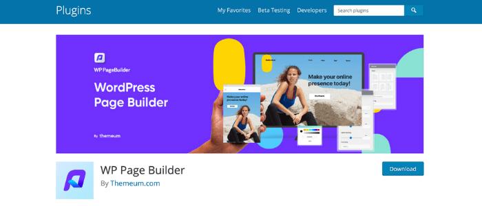 WordPress Page Builders Beaver Builder Theme