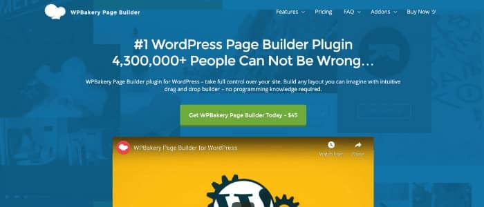 WordPress Page Builders WPBakery Theme